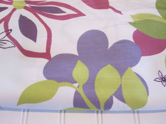 Home Decor Fabric Modern Floral Fabric Tropical