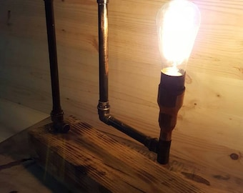 Vintage Industrial style table lamp