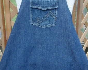 Children's  Denim  Apron