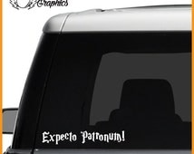 Expecto Patronum Vinyl Vehicle Decal