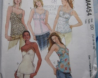McCalls 4454 Top Sewing Pattern 12-18