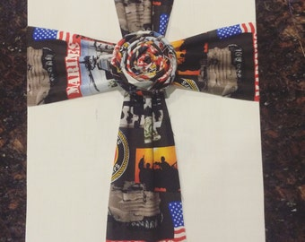 Fabric Cross - Military