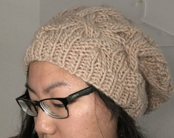 Knitted Slouch Hat