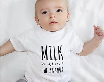 Milk Is Always The Answer T-Shirt