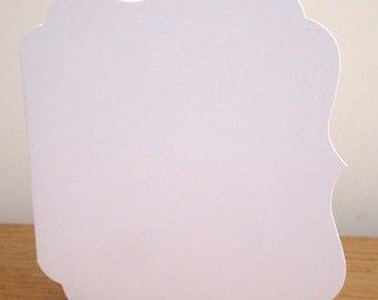 """Elegance 6"""" white cards & envelopes from Craftwork Cards"""