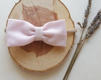 Petal Pink Bow Headband