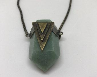 Crystal + triangle