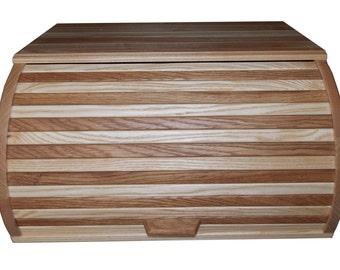 Wood bread box (oak&ash).