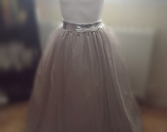 Full Length Long Tulle Skirt, Every Colour Every Size