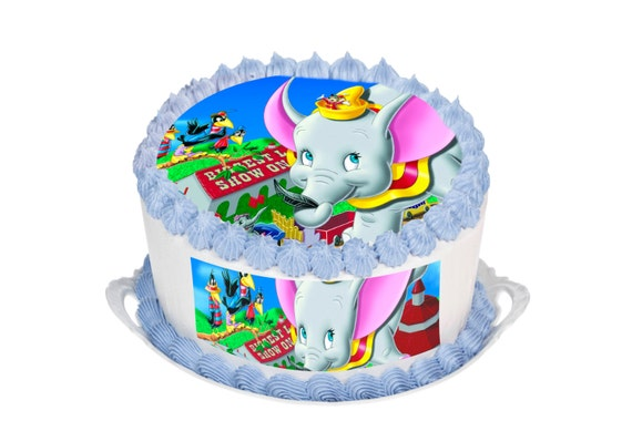 How To Make A Dumbo Cake Topper