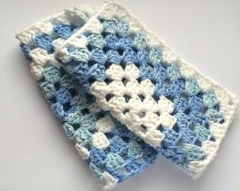 Blue & White Multi Dish Cloth Set
