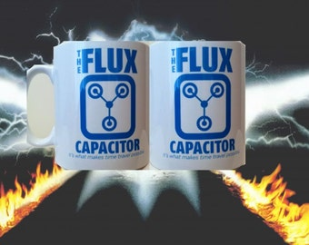 "Back to the Future ""Flux Capacitor"" Mug"