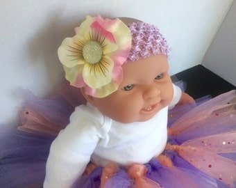 Flower Jeweled Headband