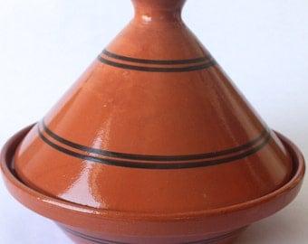 Tagine Tunisian Cooking w/ Black Stripe