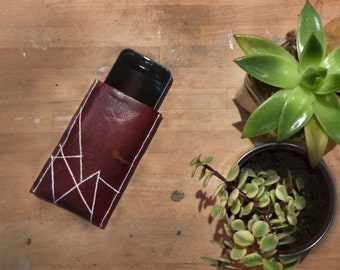 iPhone 5 / SE leather case