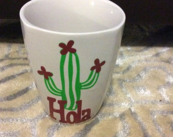 Cactus Coffee Cup