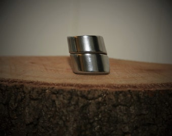 Vintage Upcycled stainless steel Spoon Ring 'plain'
