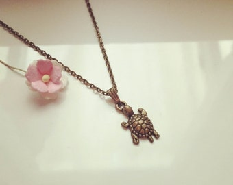 Short chain turtle, tortoise, vintage, animal, animals