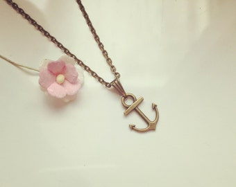 Short chain anchor, vintage, anchor, holiday, Maritim, home