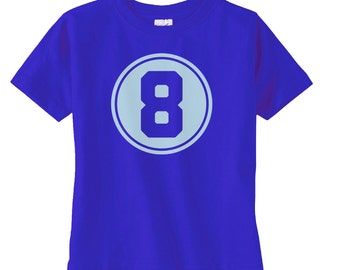 Preppy Boys Eighth Birthday Shirt - Boys Birthday Gift - Boys 8th Birthday - Boys Birthday Shirt - Birthday Party Tshirt - Birthday Boy