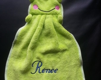 Personalized Embroiered Security Blanket/Cartoon Towel