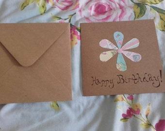 Floral Happy Birthday (Single Flower)