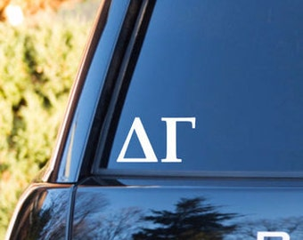 Delta Gamma Decal