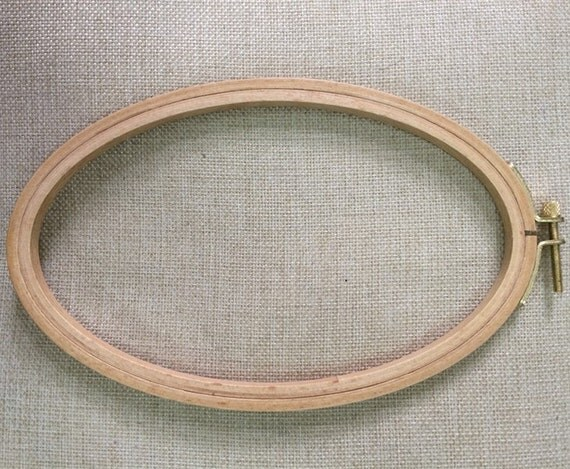 Free shipping pc cm oval embroidery hoop wooden frame