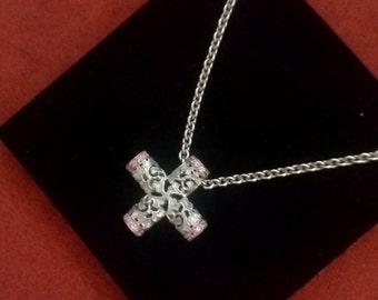 18k White gold,diamond, Carrera y Carrera necklace