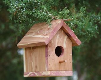 Red Cedar Birdhouse  #B-4