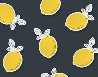 Lemon Vinyl Sticker