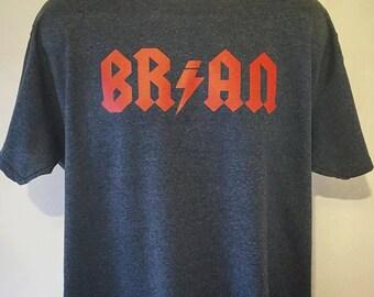 Brian Johnson BR/AN Joke T-Shirt