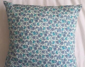Floral Print Envelope Cushion