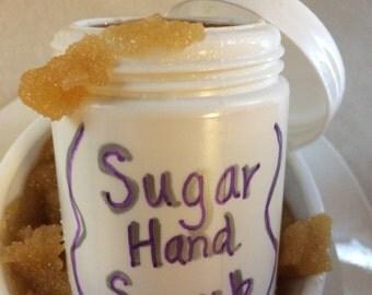 Home made sugar scrub