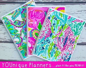 Lilly Pulitzer-Inspired Single Subject Notebooks * Lilly Notebook * Cute Notebook * Cute School Supplies * Cute Notebook* Cute Lilly Journal