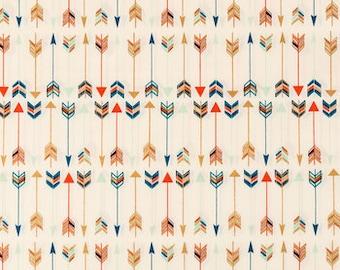 Mulit Colored Arrow  Cotton Fabric