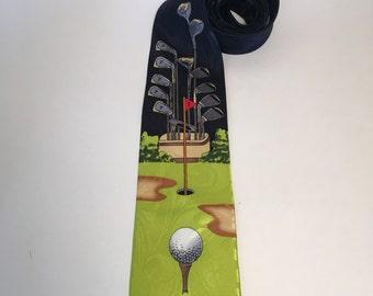 Mural, Golf Tie
