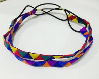 Multicoloured Choker / Hair tie / Bracelet