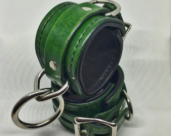 Green lined restraints