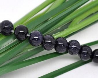 """20 pearls """"Blue River"""" - 6 mm / L1-0780"""