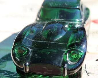 Vintage Avon Glass Jaguar Car Decanter Wild Country After Shave