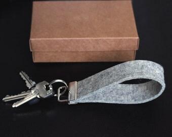 Handmade Felt key holder, felt key chain