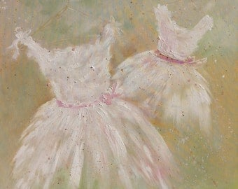 SALE - Two Tutu paintings