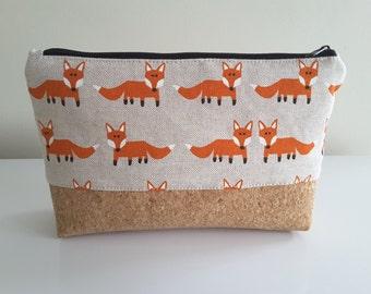 "Pencil case ""Fox Parade"""