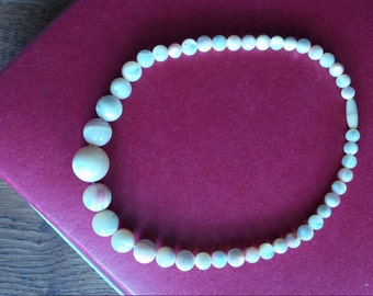 12 inch Baby/Toddler Mother of Pearl Beaded Necklace- Teething FREE SHIPPING!