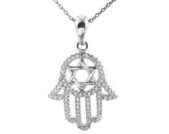 925 silver David star