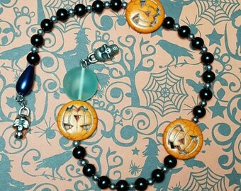 Samhain Prayer Beads Witch's Ladder Pagan Wiccan Witches
