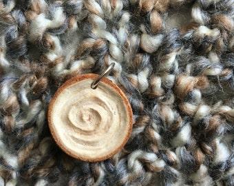 Birch Swirl Pendant