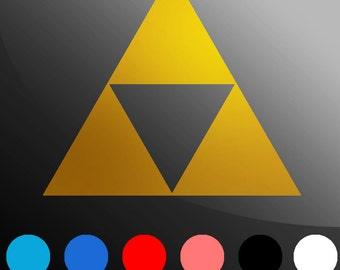 Triforce - Legend of Zelda Decal