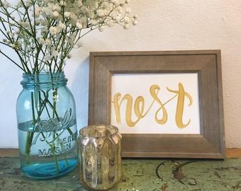 Nest original painting